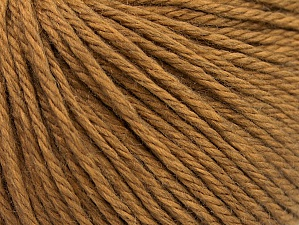 Fiber Content 50% Acrylic, 50% Wool, Light Brown, Brand ICE, fnt2-58345