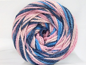 Fiber Content 50% Polyamide, 50% Acrylic, Pink Shades, Brand ICE, Blue Shades, fnt2-59348