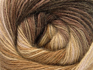 Fiber Content 60% Acrylic, 20% Angora, 20% Wool, Brand ICE, Camel, Brown Shades, fnt2-59748