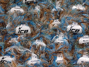 Eyelash Yarns This mixed lot includes a total of 2000 gr (70.5 oz.) yarn. There is no standard for ball weight. Also disregard any information on the labels. You will get what you see in the photo. Brand ICE, fnt2-59910