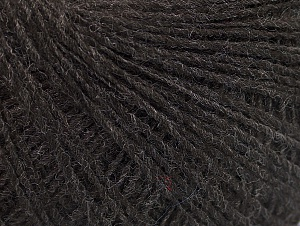 Fiber Content 50% Wool, 50% Acrylic, Brand ICE, Dark Brown, fnt2-60005
