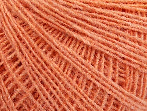Fiber Content 50% Wool, 50% Acrylic, Light Salmon, Brand ICE, fnt2-60022