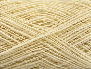 Fiber Content 100% Wool, Brand ICE, Cream, fnt2-60102