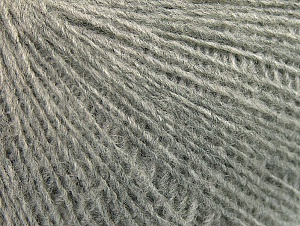 Fiber Content 50% Acrylic, 50% Wool, Light Grey, Brand ICE, Yarn Thickness 2 Fine  Sport, Baby, fnt2-60179