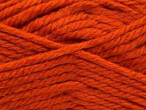 Fiber Content 60% Acrylic, 40% Wool, Orange, Brand ICE, fnt2-60233