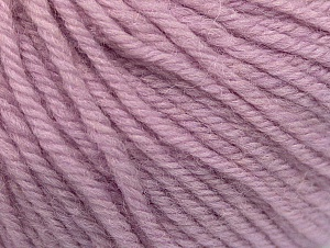 Fiber Content 100% Merino Wool, Lilac, Brand ICE, Yarn Thickness 4 Medium  Worsted, Afghan, Aran, fnt2-60245