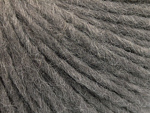 Fiber Content 50% Acrylic, 50% Wool, Brand ICE, Grey, Yarn Thickness 4 Medium  Worsted, Afghan, Aran, fnt2-60251