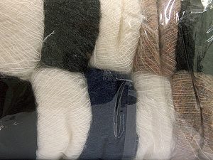 Kid Mohair  Mixed Lot, Brand ICE, fnt2-60323