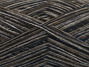 Fiber Content 100% Wool, Brand ICE, Grey, Brown, Black, fnt2-60355
