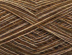 Fiber Content 100% Wool, Brand ICE, Brown Shades, fnt2-60356