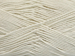 Baby cotton is a 100% premium giza cotton yarn exclusively made as a baby yarn. It is anti-bacterial and machine washable! Fiber Content 100% Giza Cotton, Off White, Brand ICE, fnt2-60370