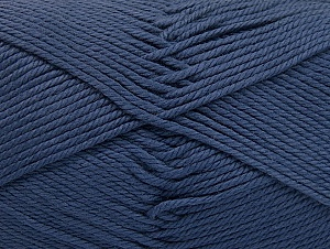 Baby cotton is a 100% premium giza cotton yarn exclusively made as a baby yarn. It is anti-bacterial and machine washable! Fiber Content 100% Giza Cotton, Navy, Brand ICE, fnt2-60371