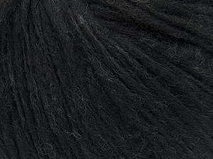 Fiber Content 27% Acrylic, 23% Wool, 23% Nylon, 15% Alpaca Superfine, 12% Viscose, Brand ICE, Anthracite Black, Yarn Thickness 4 Medium  Worsted, Afghan, Aran, fnt2-38138