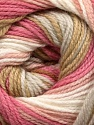 . Fiber Content 100% Baby Acrylic, White, Pink Shades, Brand ICE, Beige, Yarn Thickness 2 Fine  Sport, Baby, fnt2-50000