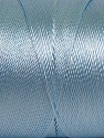 Fiber Content 100% Polyester, Light Blue, Brand ICE, Yarn Thickness 0 Lace  Fingering Crochet Thread, fnt2-44839